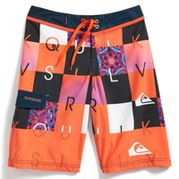 Boy's Quiksilver 'Checkmate' Volley Shorts