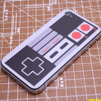 Classic NES controller iPhone 4 Decal Skin by killerduckdecals