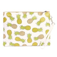 Pineapple Print Bag