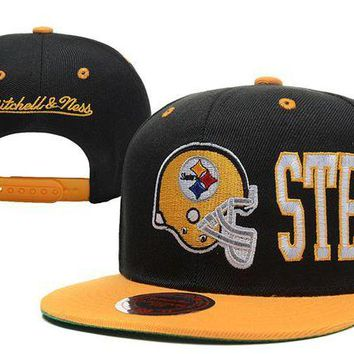 DCCKBE6 Pittsburgh Steelers Snapback NFL Football Hat M&N