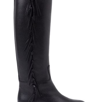 Valentino Garavani fringed knee high boots