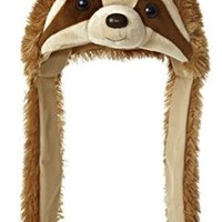 SLOTH POM HAT - NATURAL