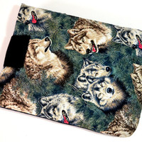 "Wolf Tablet Case/10"",9"",8""Tablet Case/iPad Case/Samsung Galaxy Sleeve/ Kindle Fire HD Case/ Nexus Case"