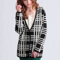 Long Road Home Plaid Cardigan