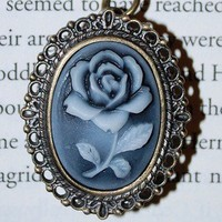 Rose Locket Watch Necklace | Wicked Clothes