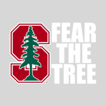 Stanford University Fear The Tree Decal | Stanford University