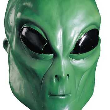 Alien Green Mask awesome scary Horror Halloween mask 2017