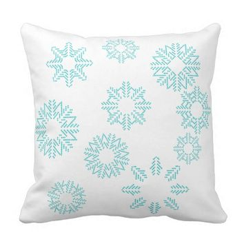 Snowflakes Pillow