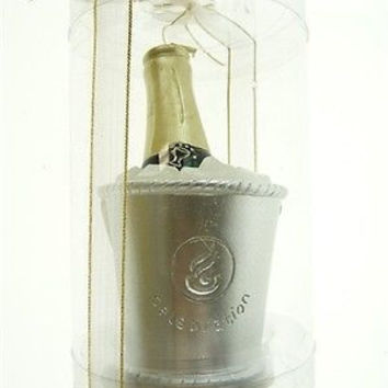 Wedding Bridal Shower Anniversary Party Favor Souvenir Gift Keepsake Ready Made, Champagne Bottle Candle