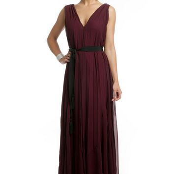 Twelfth Street by Cynthia Vincent Burgundy Bliss Gown