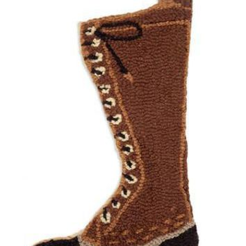 "20"" Christmas Stocking with Hunting Boot"