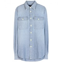 polo ralph lauren - brett denim shirt