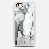 Classic Grey Marble - Graphic by D iPhone 6s Plus case by GRAPHIC BY D | Casetify