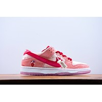 "Nike StrangeLove x Nike SB Dunk Low""Valentine's Day"" Women Men Sneakers Sport Shoes Gym shoes"