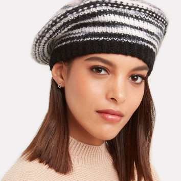 Multicolored Knit Hat