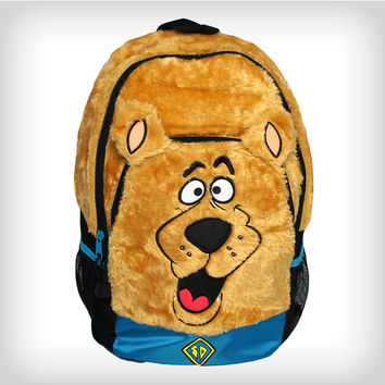 ddf56e103402e Scooby Doo Diecut Furry Face Backpack