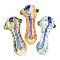 """Assorted Dichro Hand Pipe 3.5"""""""