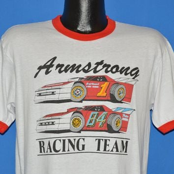 80s Armstrong Racing Team Double Trouble t-shirt Large