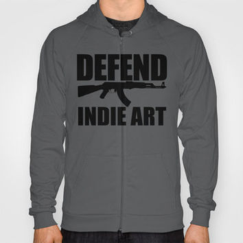Defend Indie Art Hoody by Maurece