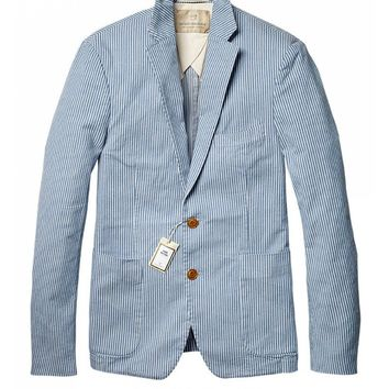 Denim inspired blazer
