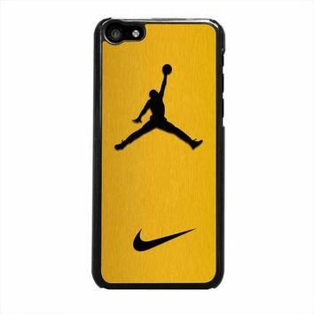 nike air jordan golden gold iphone 5c 5 5s 4 4s 6 6s plus cases