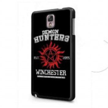 supernatural demon hunters for samsung galaxy note 3 case