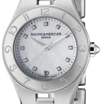 Baume and Mercier Linea Stainless Steel Watch MOA10011