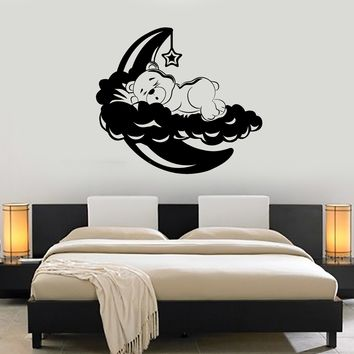 Wall Vinyl Decal Teddy Bear Nursery Kids Children Decor Unique Gift z3682