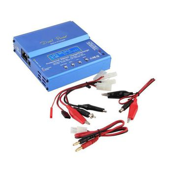 DCCK1IN new imax b6 ac b6ac lipo nimh 3s rc battery balance charger with b6ac european universal power cord power cable