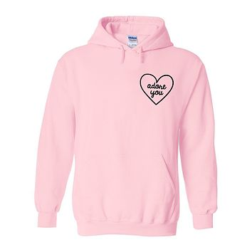 "Harry Styles ""Adore You Heart CORNER"" Hoodie Sweatshirt"