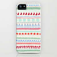 Christmas Doodles iPhone Case by Anita Ivancenko | Society6