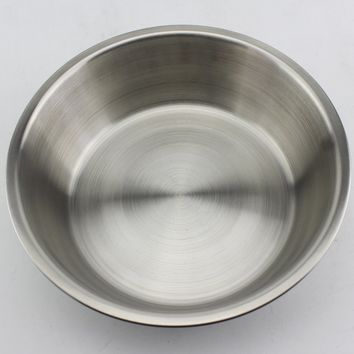 Standard Stainless Steel Dog Feed Bowl