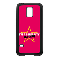 Celebrity Hater Black Silicon Rubber Case for Galaxy S5 Mini by Chargrilled