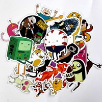 stickers 25 pieces American Drama Adventure Time Funny
