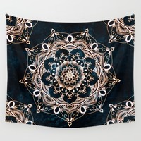 Glowing Spirit Wall Tapestry by Inspired Images