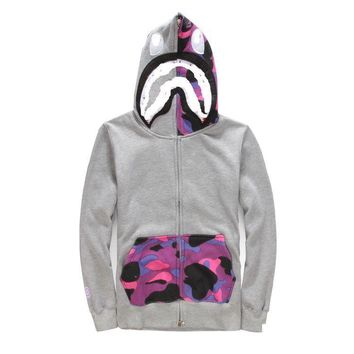 Plus Size Camouflage Hoodies Couple Casual Jacket [211462094860]