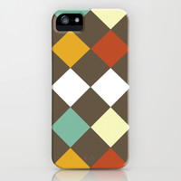 Checkers Fall iPhone & iPod Case by Dena Brender Photography