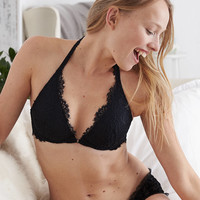 Aerie Real Obsessed™ Lightly Lined Bra, True Black