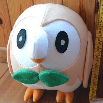 Life size Pokemon Rowlet plush MADE TO ORDER