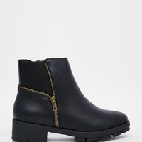Truffle Collection Kiley Zip Ankle Boots at asos.com