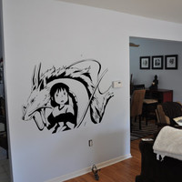 Spirited Away Chihiro & Kohaku Wall Decal