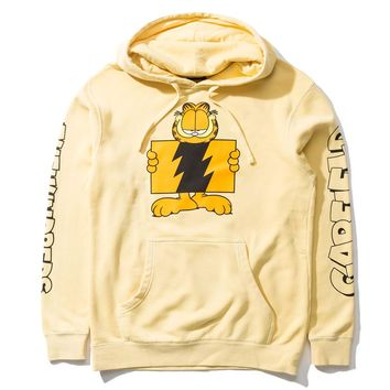 The Hundreds - Garfield Flag Pullover - Pigment Yellow