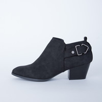 Buckled Low Cut Booties
