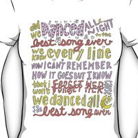 Best Song Ever Lyrics Women's T-Shirt