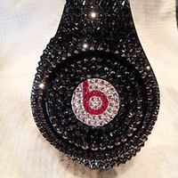 SWAROVSKI CRYSTAL BEATS BY DRE   SEND YOUR OWN TO BE STONED