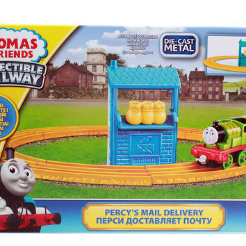 thomas & friends collectible railway percys mail delivery