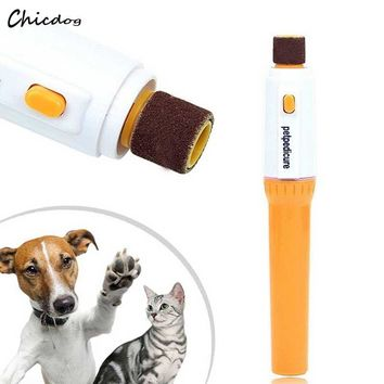 Electric Pet Puppy Claw Toe Nail Pedicure Grinder, Clipper & Trimmer Tool