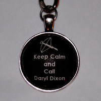 Daryl Dixon Keychain. The Walking Dead Inspired Keychain.