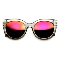 Retro Mod Indie Womens Bold Cat Eye Sunglasses 9283
