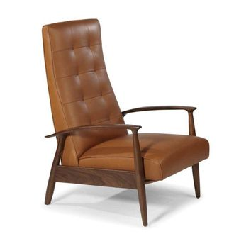 Thayer Coggin Milo Baughman Tighten Up Recliner